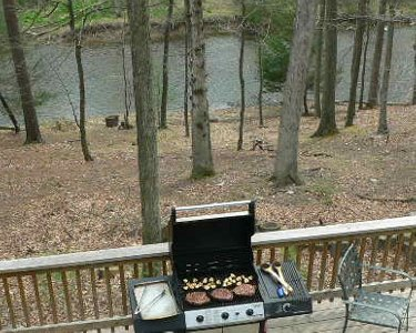 Grilling on the Deck
