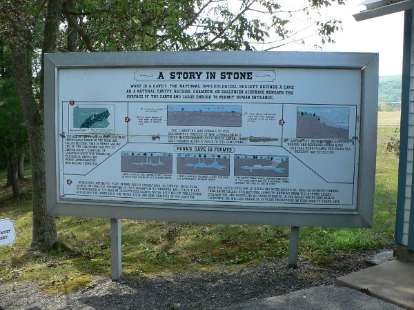 Penn's Cave History