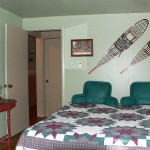 Master Bedroom with King Size Bed and Satellite TV