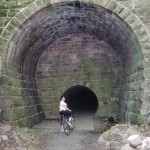 Old Railroad Tunnel 4 miles upstream